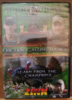 ZINK DUCK &GOOSE CALLS TURKEY TIME UNIVERSITY VOL.2 FRICTION CALLING BASICS DVD