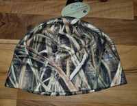 AVERY OUTDOORS FLEECE SKULL CAP MOSSY OAK SHADOW GRASS BLADES CATTAIL LOGO NEW!