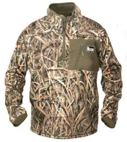 BANDED GEAR 1/4 ZIP MID LAYER FLEECE PULLOVER JACKET BLADES