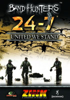 ZINK 24-7 DUCK & GOOSE CALLS BAND HUNTERS 4 UNITED WE STAND DVD