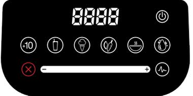 Easy Interface Controls with Presets and Speed on Blendtec Designer 675