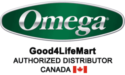 Buy Omega Juicers from Canada Authorized Distributor and Retailer: Good4LifeMart