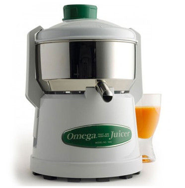 Omega 4000 and 02 continuous pulp-ejection juicers