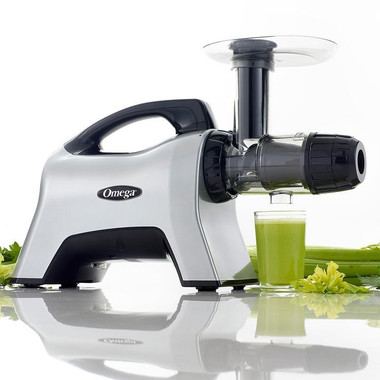 Omega NC1000HDS Low Speed, Masticating Juice Extractor and Nutrition Centre.  Make fresh, healthy delicious and nutritious juices, rich in antioxidants, vitamins, minerals, phytonutrients and more.  Enjoy celery juice, cucumber juice, wheatgrass juice, ginger carrot, and more!