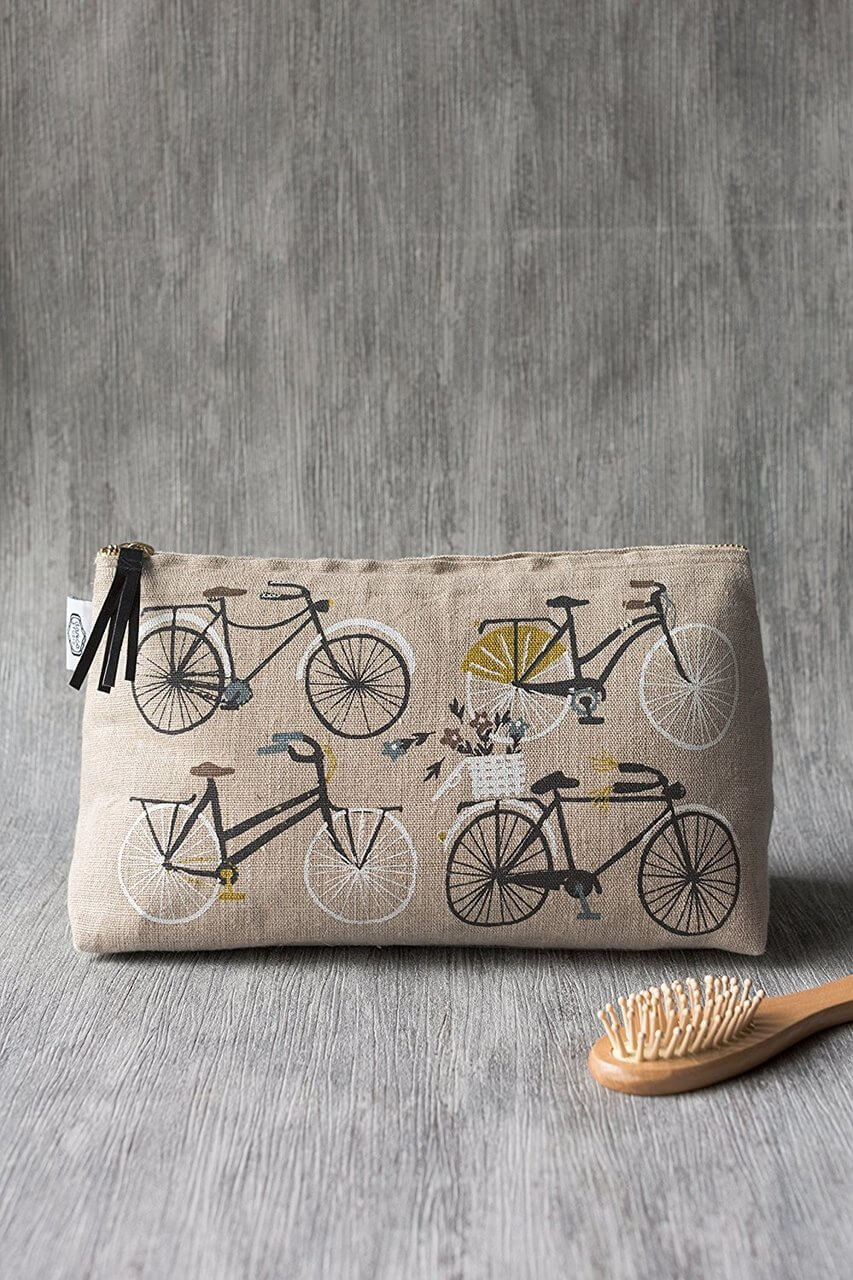 Bicicletta Cosmetic Bag - Large | Mama Bath + Body