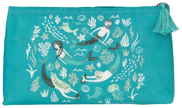 Sea Spell Cosmetic Bag - Large | Mama Bath + Body