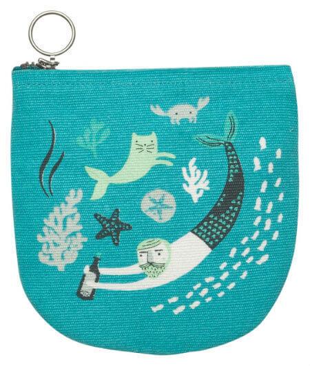 Sea Spell Halfmoon Pouch | Mama Bath + Body