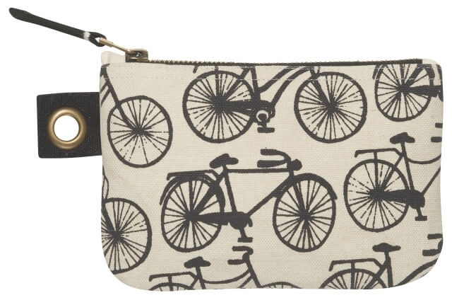 Bicicletta Zip Pouch - Small | Mama Bath + Body