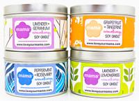 Sugar + Spice Soy Candle Tin - SALE