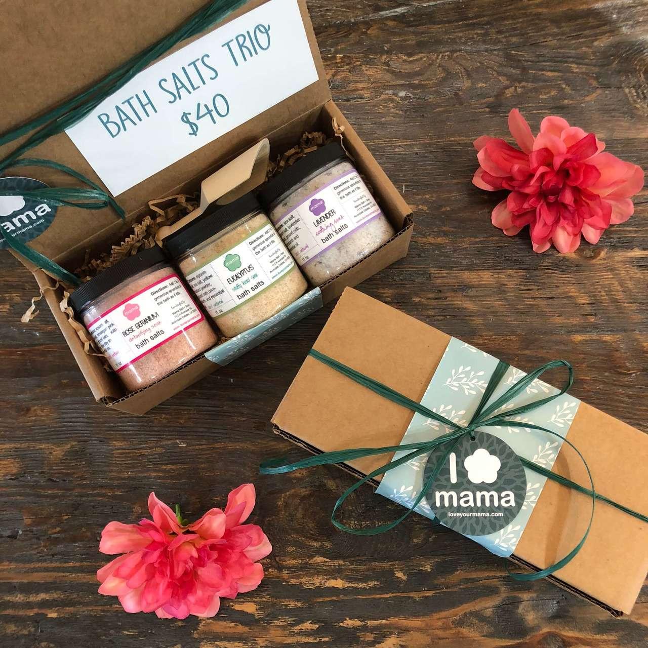 Bath Salts Trio   Mama Bath + Body