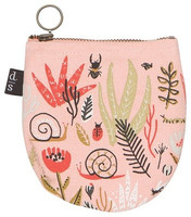 Small World Halfmoon Pouch | Mama Bath + Body
