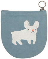 Frenchie Halfmoon Pouch | Mama Bath + Body