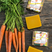 Carrot Complexion Bar (March Soap of the Month)
