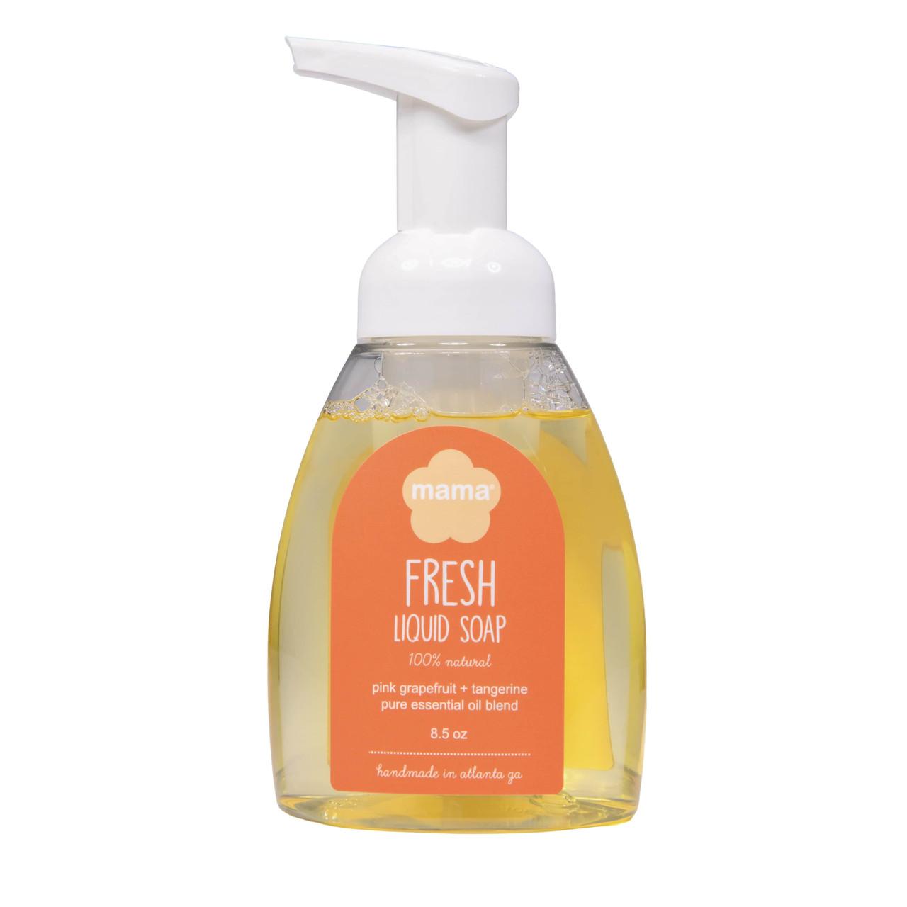Fresh (Grapefruit + Tangerine) Liquid Soap | Mama Bath + Body