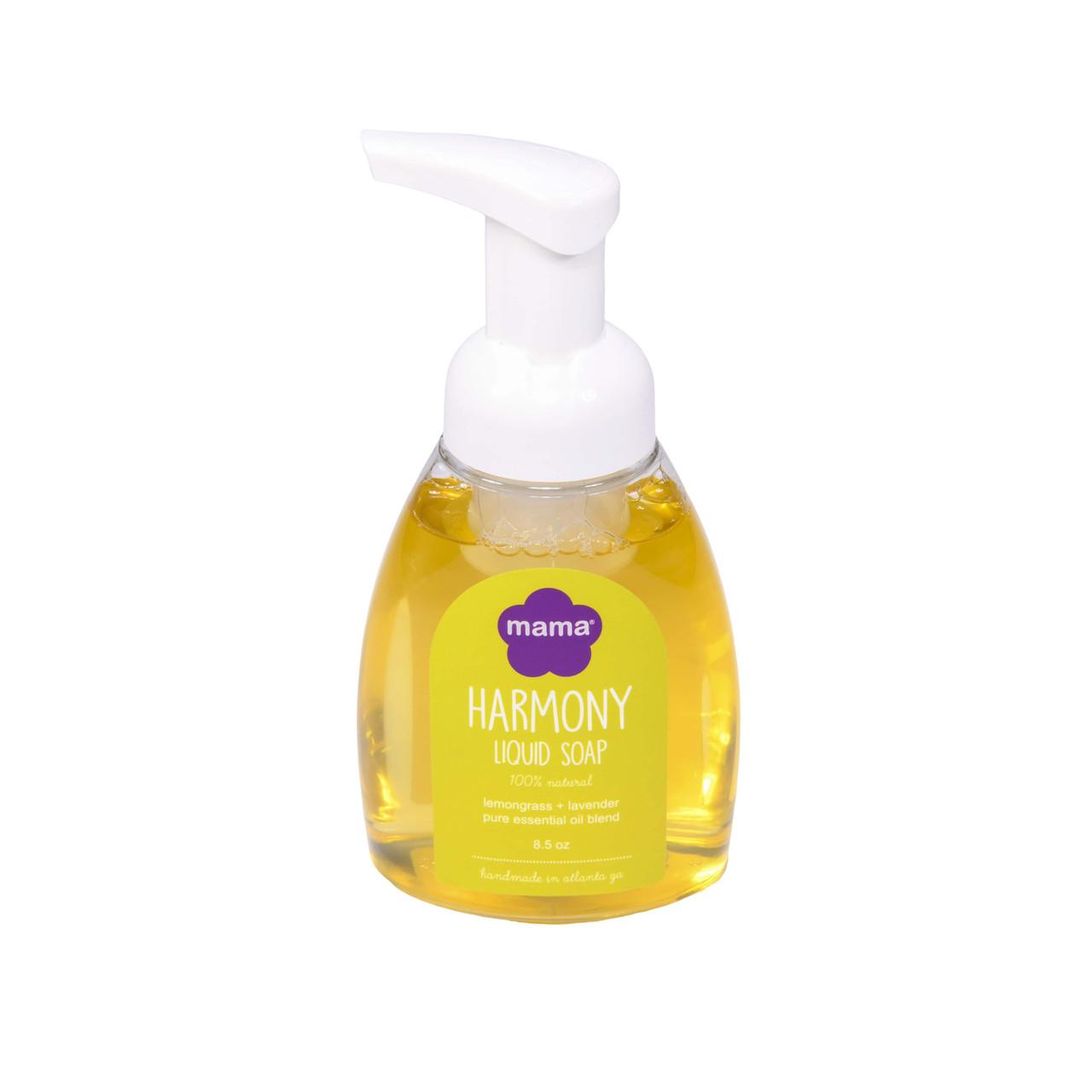 Harmony (Lavender + Lemongrass) Liquid Soap   Mama Bath + Body