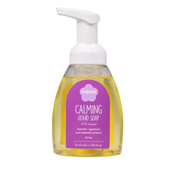 Calming (Lavender + Geranium) Liquid Soap   Mama Bath + Body