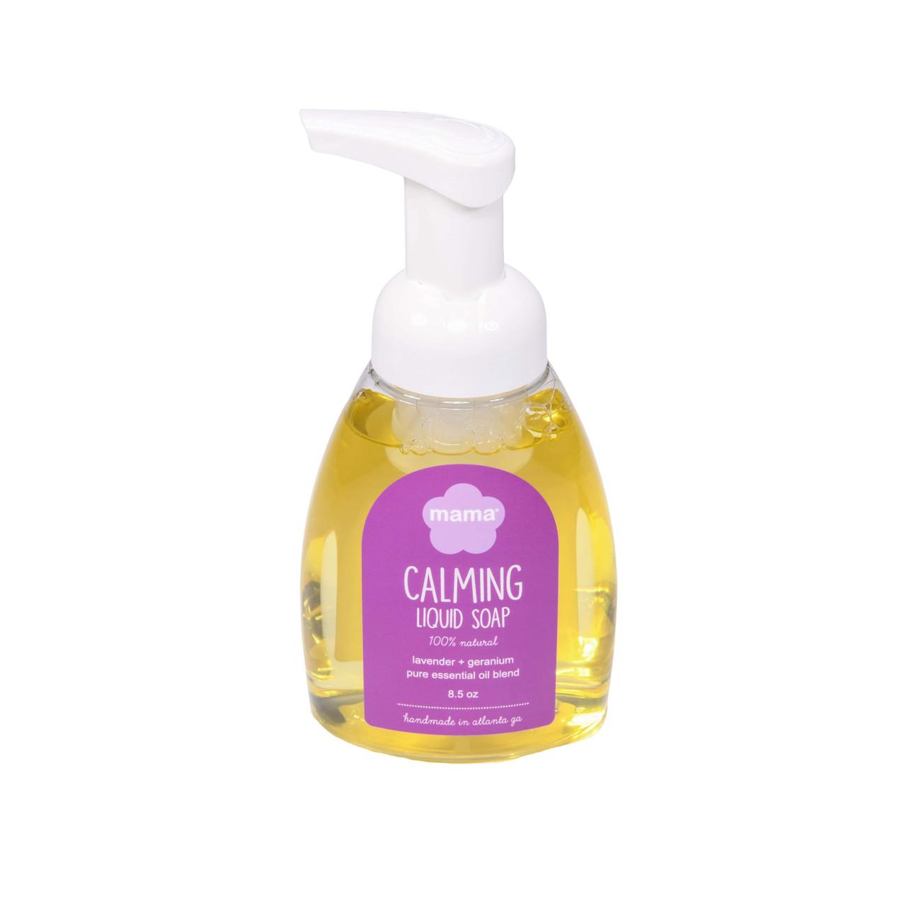 Calming (Lavender + Geranium) Liquid Soap | Mama Bath + Body