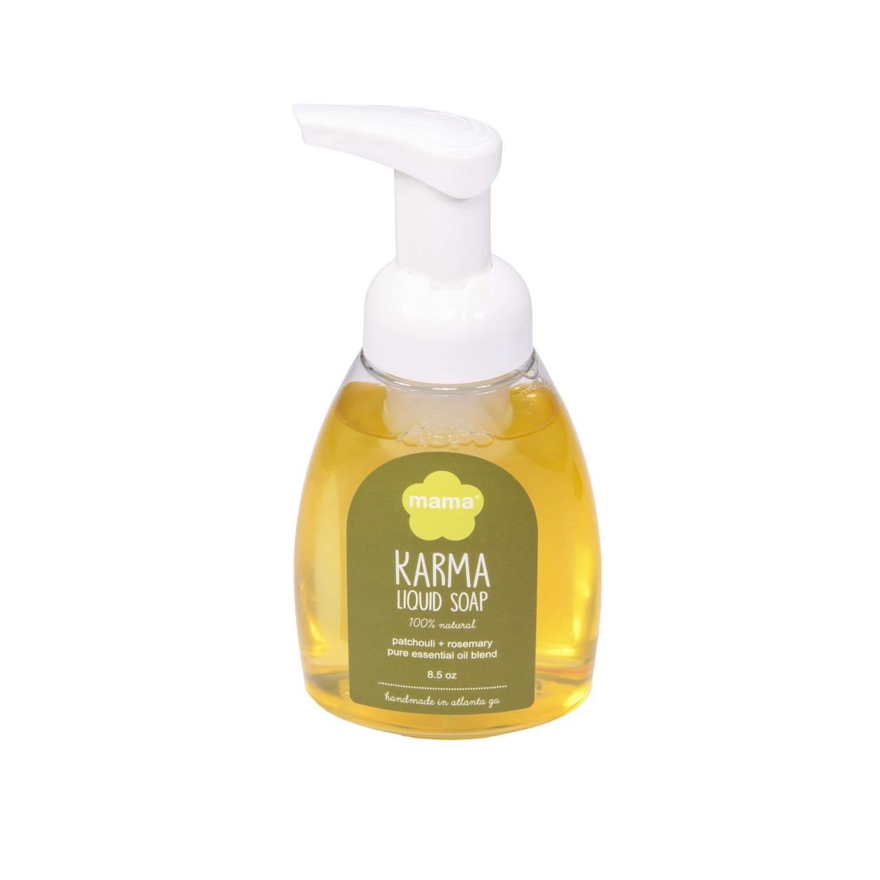 Karma (Patchouli + Rosemary) Liquid Soap | Mama Bath + Body