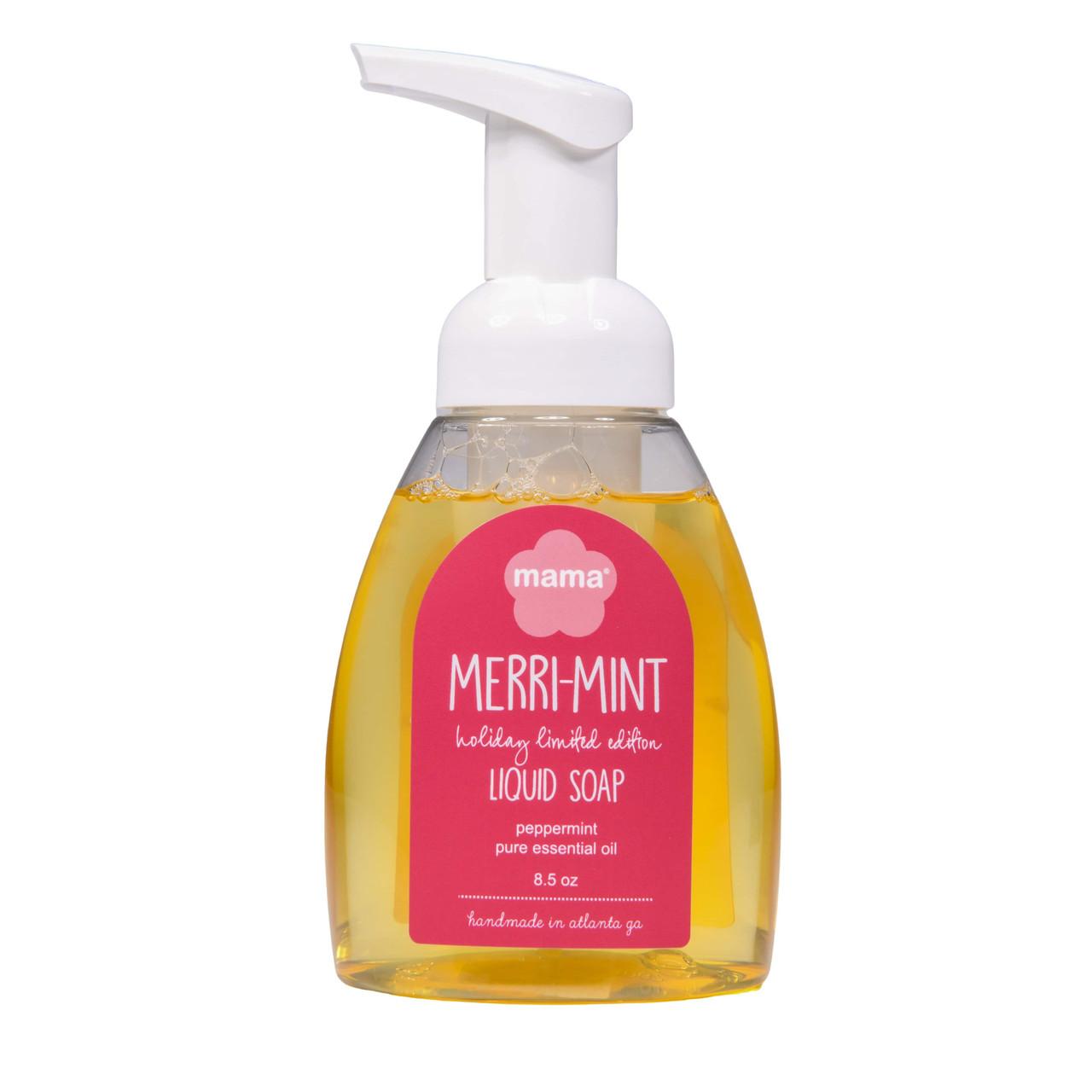 Merri-Mint Liquid Soap   Mama Bath + Body