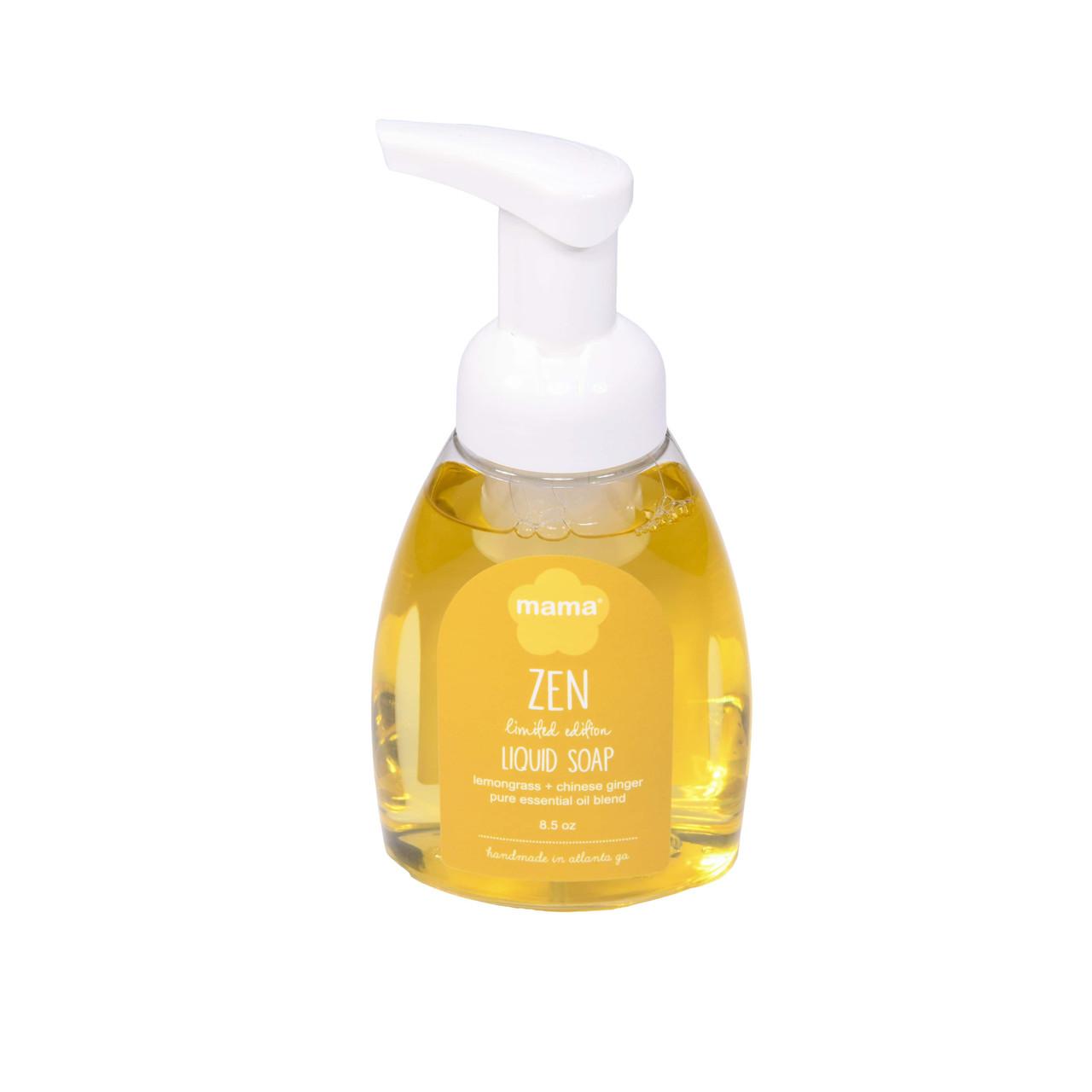 Zen (Lemongrass + Ginger) Liquid Soap   Mama Bath + Body
