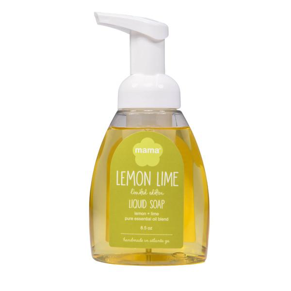 Lemon + Lime Liquid Soap | Mama Bath + Body
