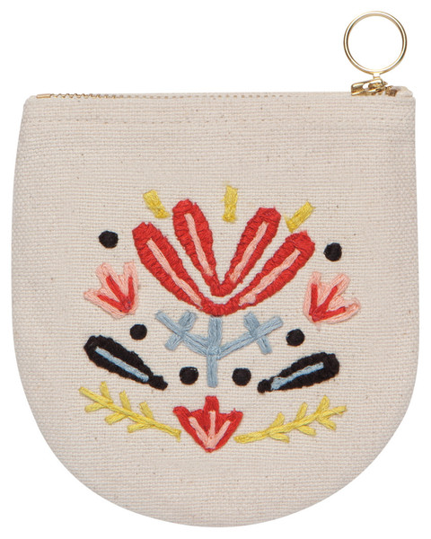 Frida Halfmoon Pouch | Mama Bath + Body