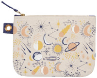 Cosmic Zip Pouch - Large | Mama Bath + Body