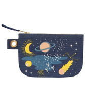 Cosmic Zip Pouch - Small | Mama Bath + Body