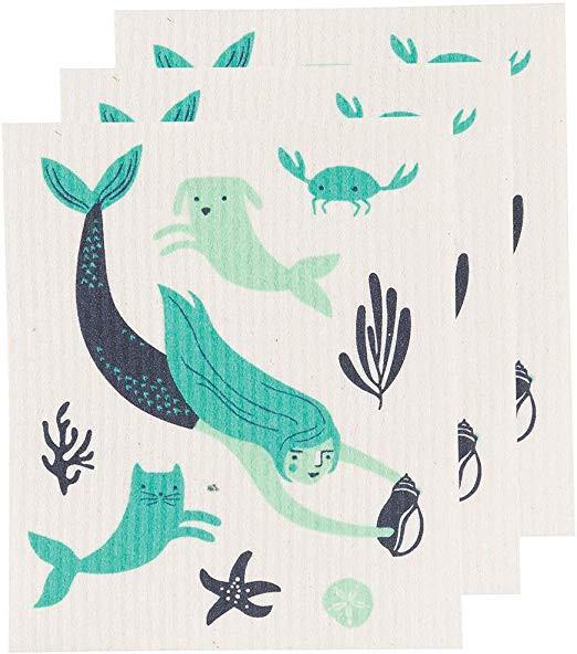 Sea Spell Swedish Dishcloth | Mama Bath + Body