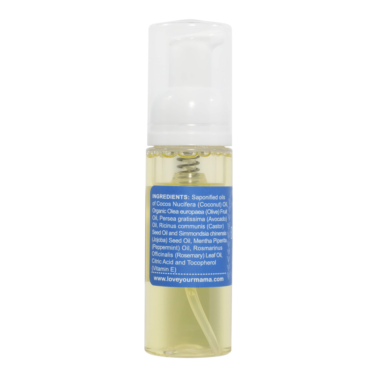 Exhilarating (Peppermint + Rosemary) Travel Size Liquid Soap | Mama Bath + Body