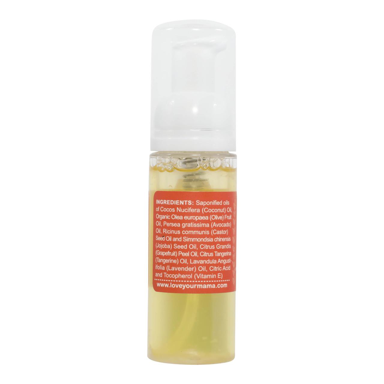 Fresh (Grapefruit + Tangerine) Travel Size Liquid Soap | Mama Bath + Body