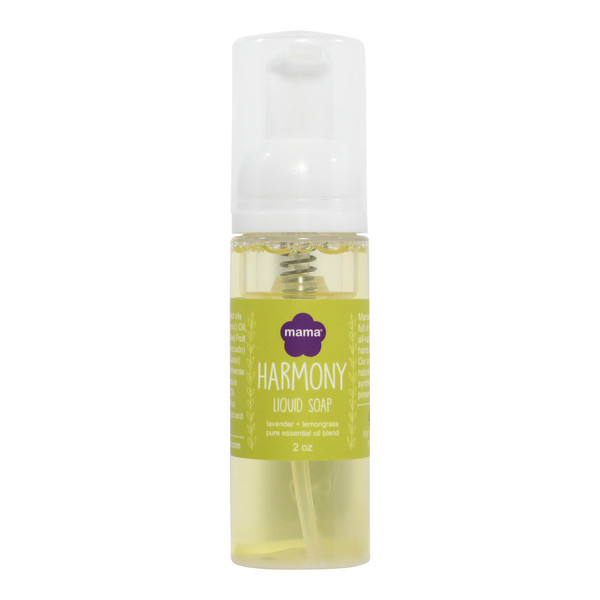 Harmony (Lavender + Lemongrass) Travel Size Liquid Soap | Mama Bath + Body