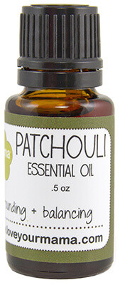 Patchouli Essential Oil | Mama Bath + Body