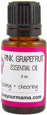 Pink Grapefruit Essential Oil | Mama Bath + Body