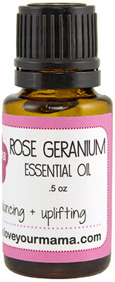 Rose Geranium Essential Oil | Mama Bath + Body