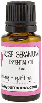 Rose Geranium Essential Oil | Mama Bath + Body
