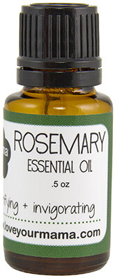 Rosemary Essential Oil | Mama Bath + Body