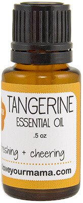 Tangerine Essential Oil   Mama Bath + Body