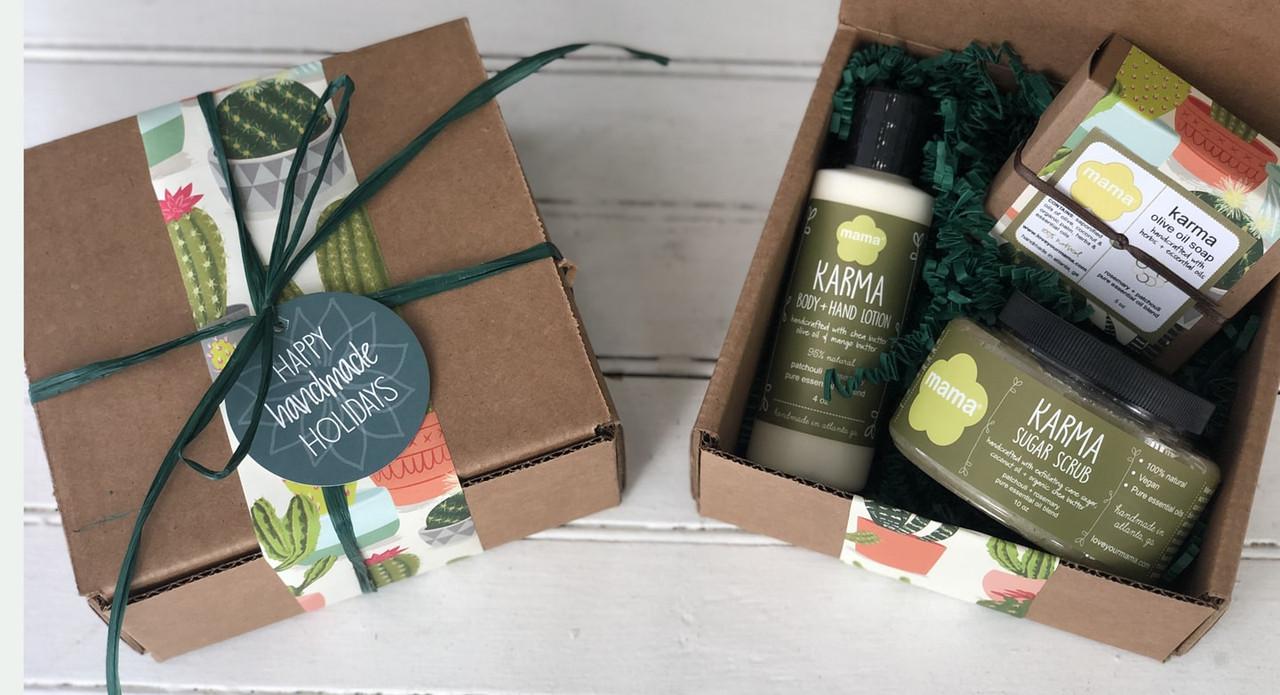 Karma (Patchouli + Rosemary) Gift Set | Mama Bath + Body