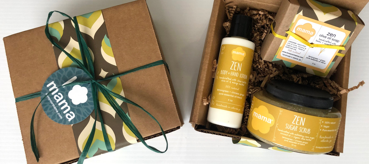 Lemongrass + Ginger (Zen) Gift Set | Mama Bath + Body