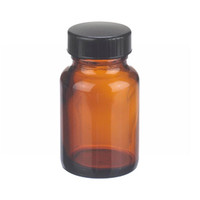 Amber Bottle with Lid - 2 oz.
