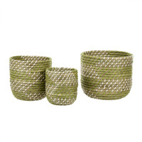 Summer Stripes Basket - 3 Sizes