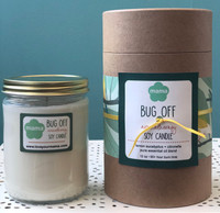 Bug Off Soy candle (glass) - burns 60 hours