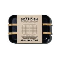 Plant Fiber soap dish (black)