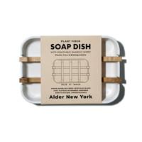 Plant Fiber soap dish (white)