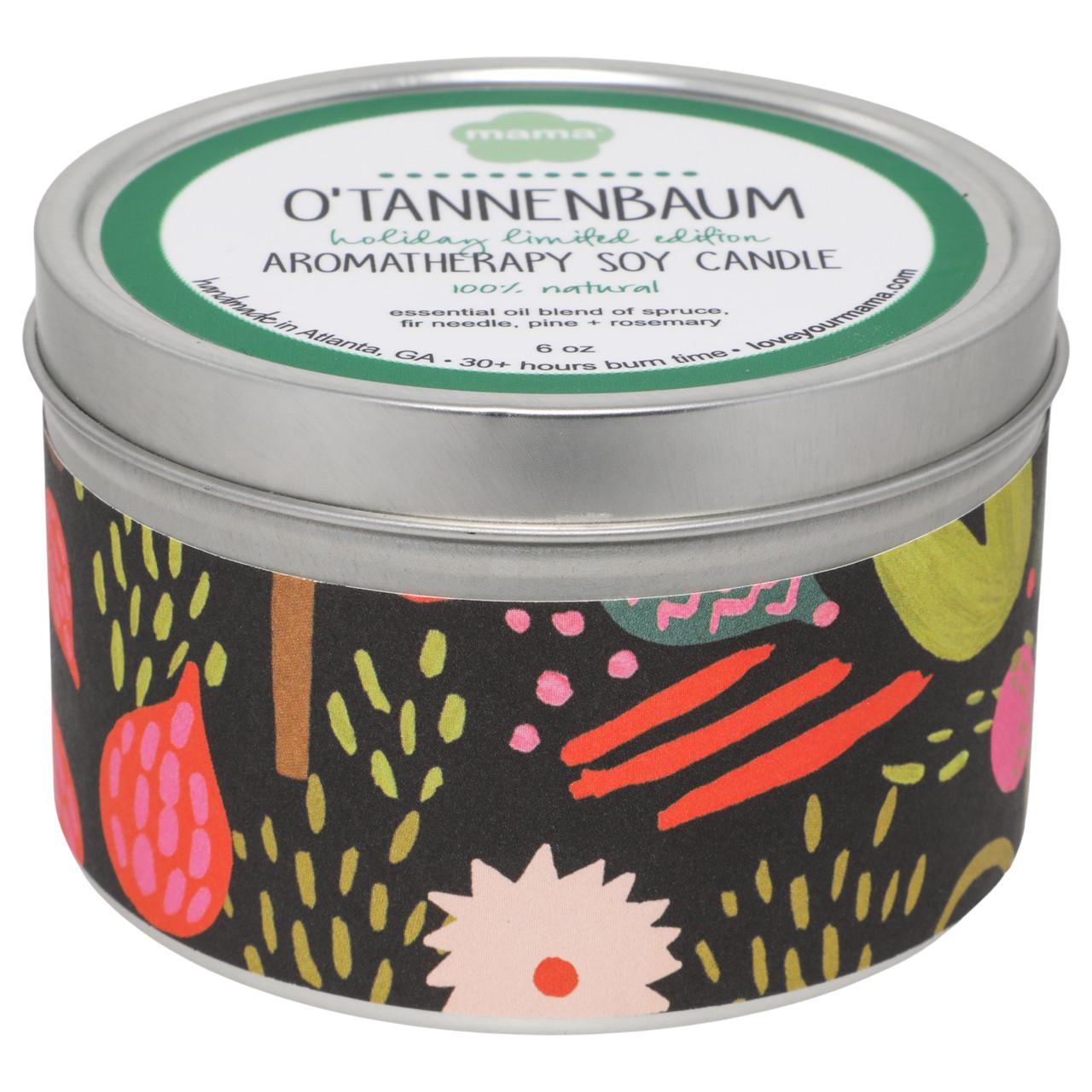 O'Tannenbaum 6 oz. Soy Candle Tin | Mama Bath + Body