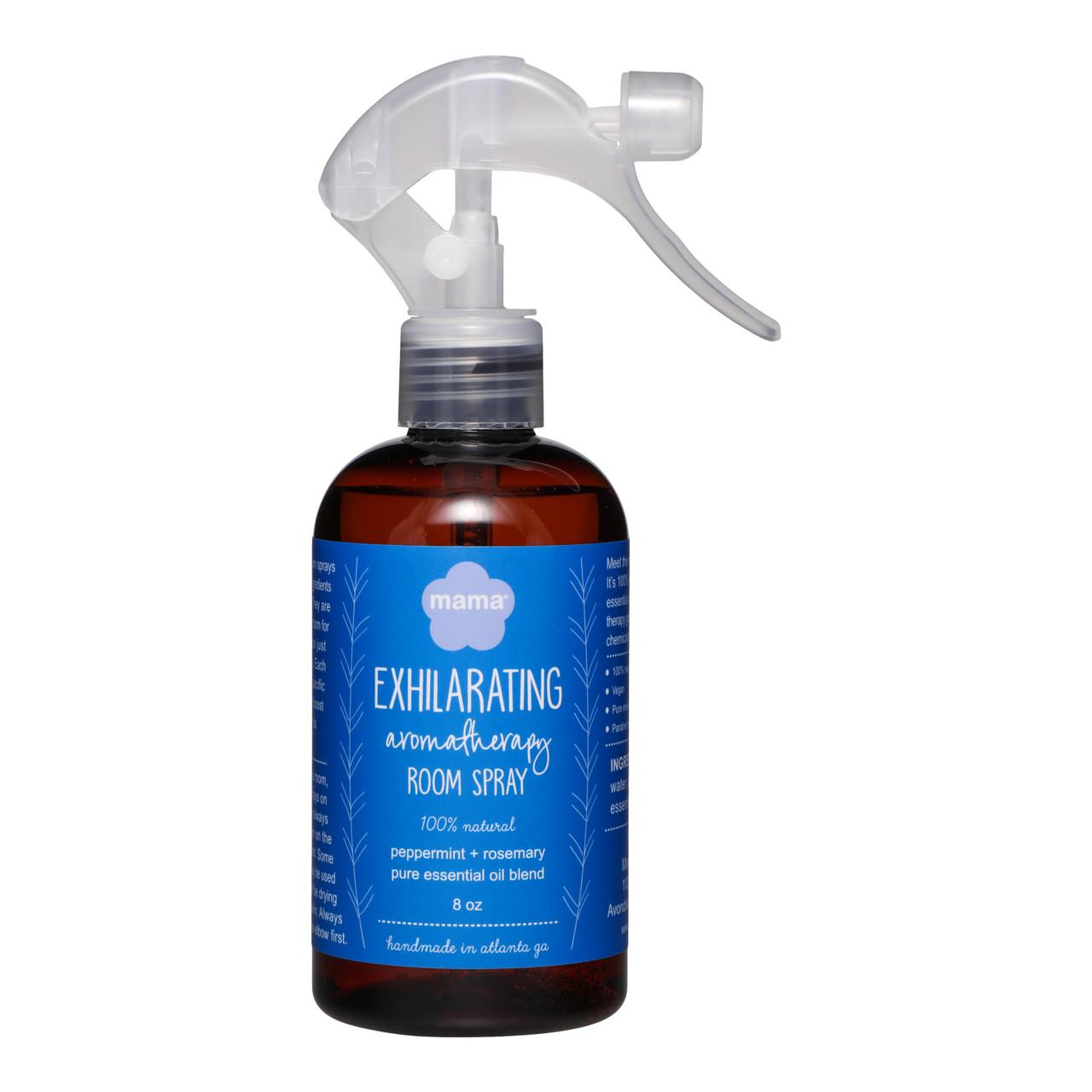 Peppermint + Rosemary (Exhilarating) Room Spray | Mama Bath + Body