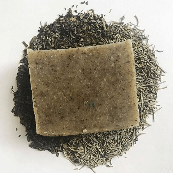Exhilarating (Peppermint + Rosemary) Soap | Mama Bath + Body