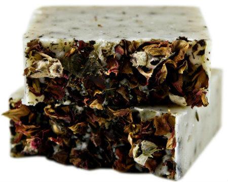 Flora (Rose Geranium) Soap  | Mama Bath + Body