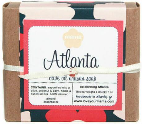 Atlanta Neighborhood Soap | Mama Bath + Body